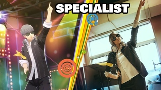 """Real Life Yu Narukami Dancing """"SPECIALIST"""" ~ Persona 4 Dancing Side by Side"""