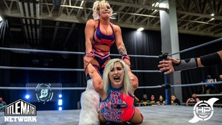 Heather Monroe vs Taya Valkyrie - Women's Wrestling (Impact, AEW, Hurricane Pro)