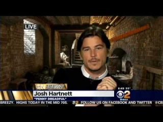 Actor Josh Hartnett Discusses Showtime's 'Penny Dreadful' On CBS2 News This Morning