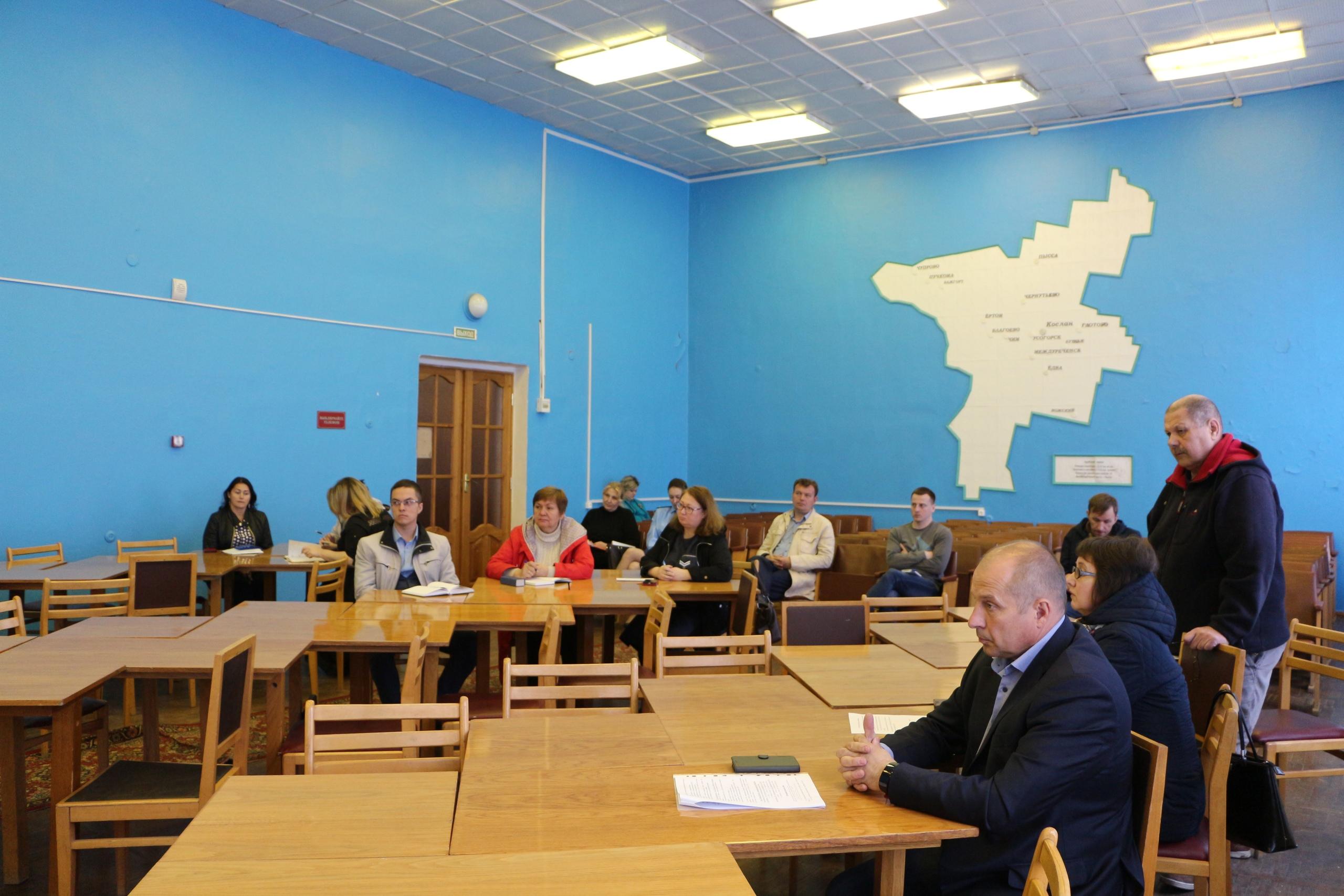Вчера в администрации Удорского района прошло заседание штаба по подготовке к отопительному сезону
