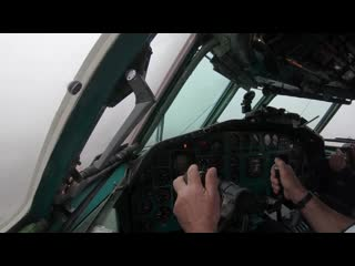 On board of the last commercial Tupolev Tu-154M flight ever (ENG subs)