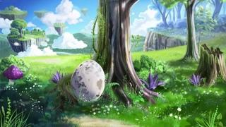 Черновая анимация фона первой сцены мультфильма в anime studio (moho 12)