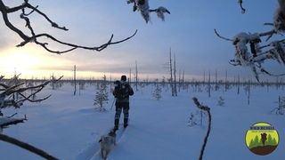 Wild Russia/Frozen in the taiga/Fishing at minus 30 degrees