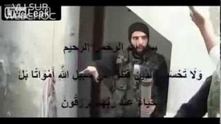 Сирия-война.  Последний  выстрел из РПГ.  Наёмнику не повезло