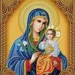 Алмазная живопись: иконы своими руками