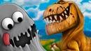 ЛИЗУН ГЛАЗАСТИК съел мир динозавров 1Машина времени в Tasty planet Back for Seconds на крутилкины