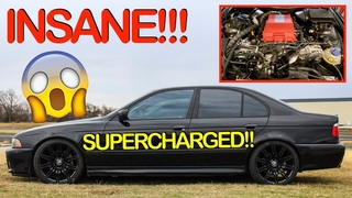 First Drive in the INSANE Supercharged E39! | BMW E39 LS3 Swap