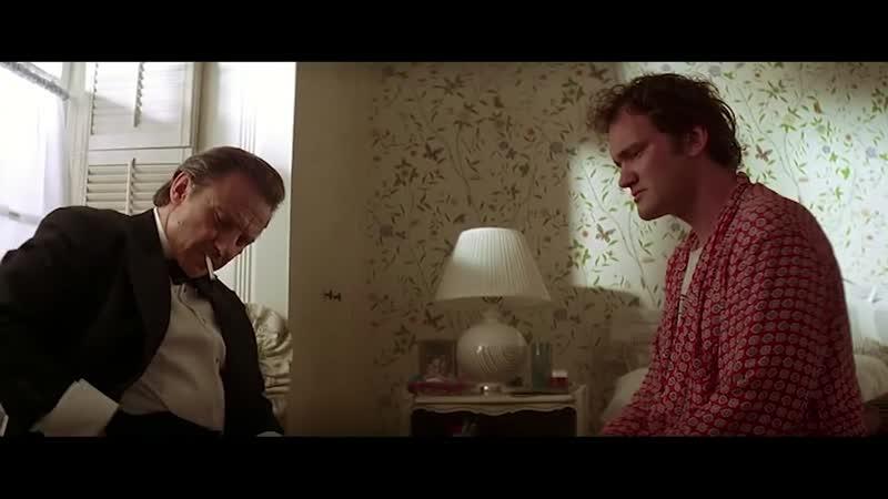 Вульф приезжает помочь Джулсу и Винсенту Криминальное чтиво