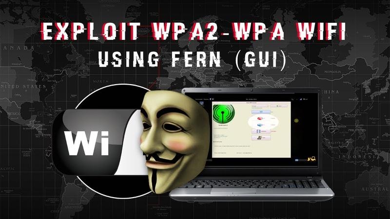 Expl0it WPA2-WPA WiFi Using Fern [Kali Linux]