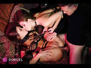 Alexis Crystal, Alyssa Reece - Your wish is my command - Anal Sex Threesome Russian Hardcore Natural Tits Lingerie, Porn, Порно