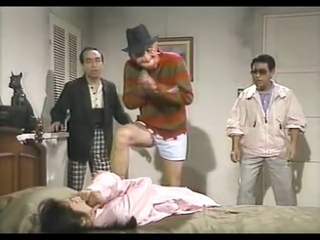 Редкое видео - японское телешоу с Фредди Крюгером!