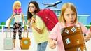 Барби едет на море - Что взять с собой Смешные видео для девочек с Барби