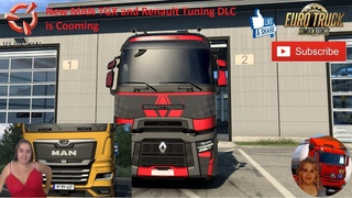 Euro Truck Simulator 2 News Official New MAN TGX New Future Truck and Renault Tuning DLC is Cooming