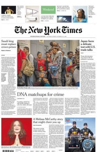 International New York Times - 20-21 October 2018