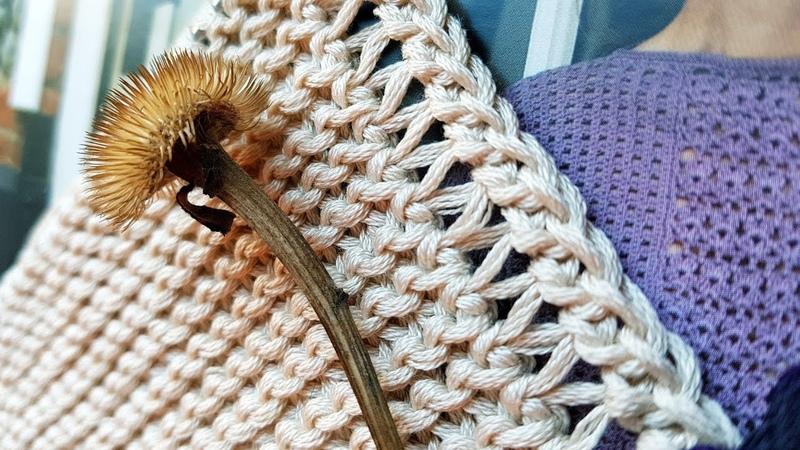 Как безупречно и эффектно оформить край вязаного изделия 🍒 knitting pattern