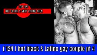 💕(124) HOT  BLACK & LATINO GAY COUPLE pT 4 2021  PAREJA GAY LATINA Y NEGRA CALIENTE pT 4 2021