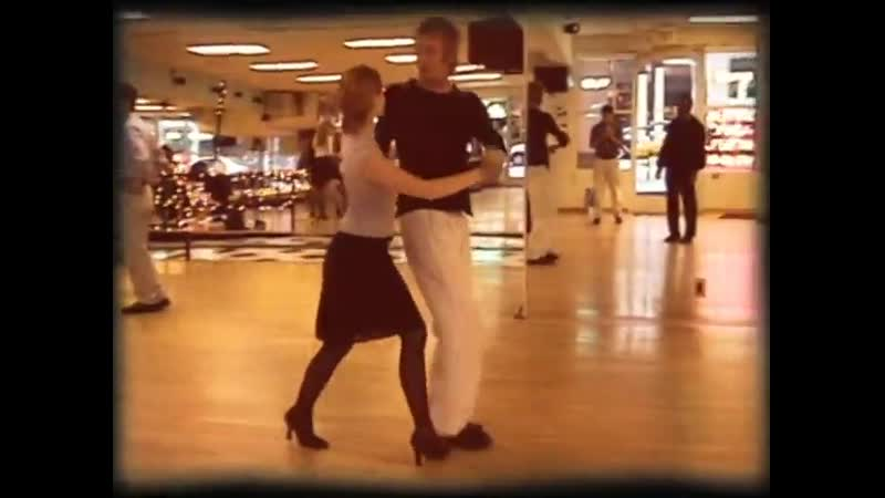 Rhys Ifans and Miranda Otto dance scene rehearsal Human Nature 2001