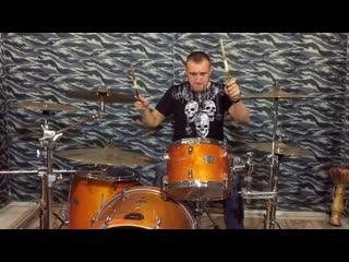 #Drumcover by Alex Z - Стена (Чёрный Обелиск)