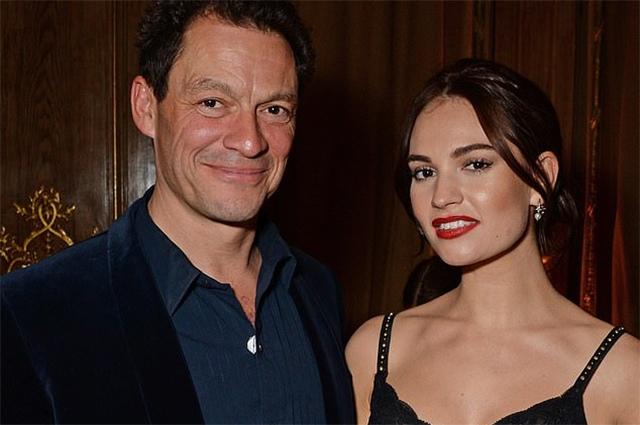 Лили Джеймс отменила свое участие в телешоу после мимолетного романа с женатым Домиником Уэстом