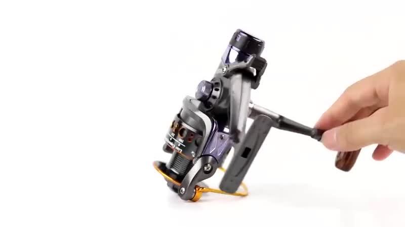 Безынерционная катушка с байтраннером и двумя фрикционами