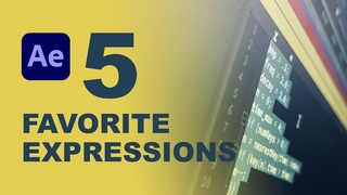 Top 5 Best Expressions To Use with Adobe After Effects!