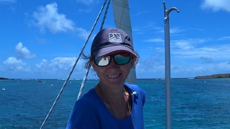 Гваделупа Эпизод 1 На необитаемых островах Petite Terre Под парусом Ellie Skeppner
