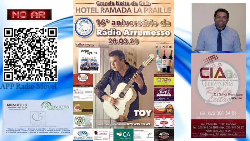 Arremesso Em Português - live via Restream.io