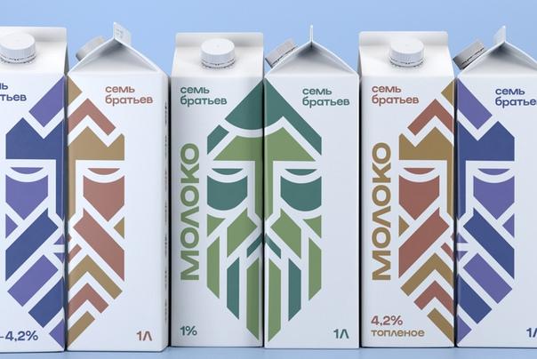 РА «Восход» разработало нейминг «Семь Братьев» для бренда молока, которое...
