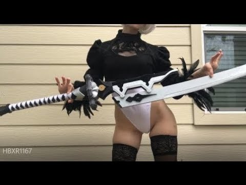 【Nier Automata】 Virtuous Treaty Sword Unboxing and Review