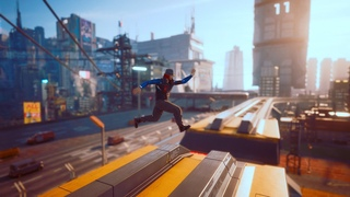 How to surf on trains in Cyberpunk 2077