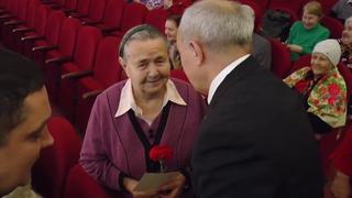 Вручение памятных медалей ветеранам Тутаевского района
