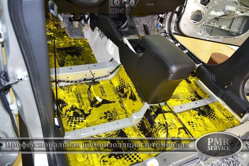 Комплексная шумоизоляция Mitsubishi ASX, изображение №2