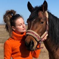 Arina Fokina фото со страницы ВКонтакте