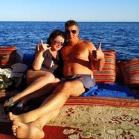 Фотография страницы Анастасии Сахаровской ВКонтакте