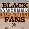 ШАХТЁР BLACK-WHITE-ORANGE FANS