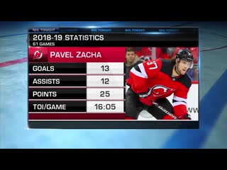 Nhl tonight zacha extension sep 10, 2019