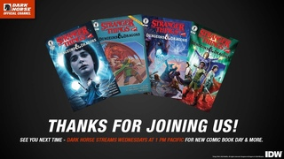 Dark Horse Comics: Stranger Things and Dungeons & Dragons Panel and D&D Adventure