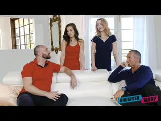 Spencer Bradley & Nikole Nash (Genius Daughters) [2020, Foursome, FFMM, 69, Cum In Mouth, Step Dad, Taboo, Teen, 1080p]