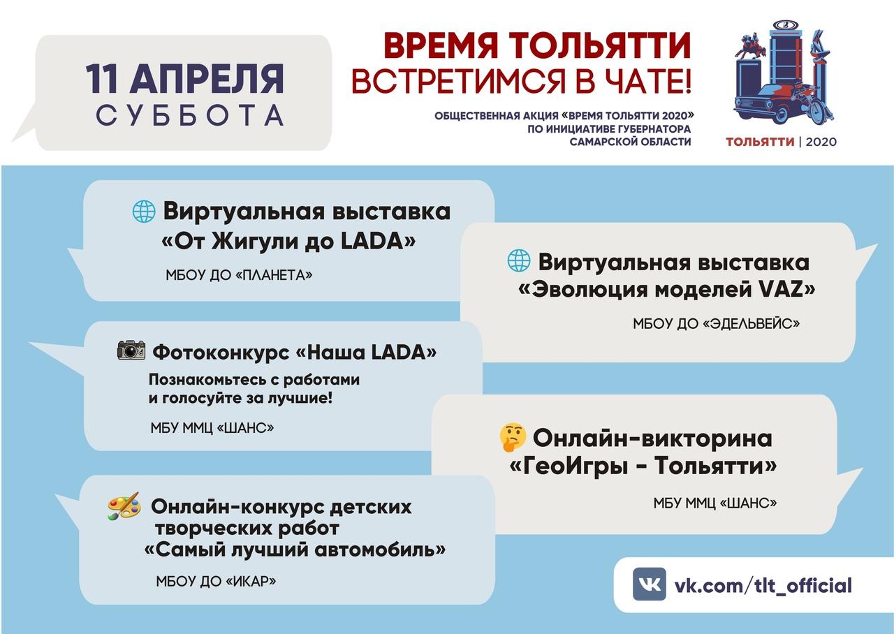 Время Тольятти – время в чате
