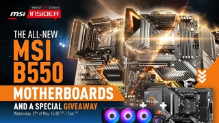 A first look at MSI B550 motherboards | MSI