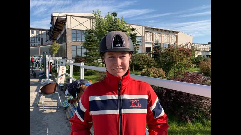 Дарья Павлиди победитель Бронзового тура 11 этапа MAXIMA MASTERS