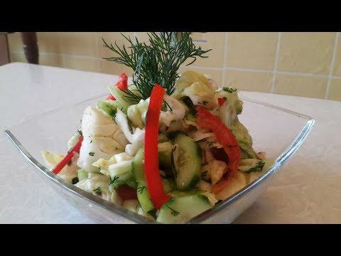 Витаминный салат Vitaminli salat tayyorlash