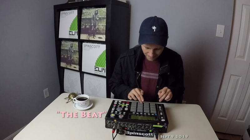 The Beat on the MPC 1000! Live DnB