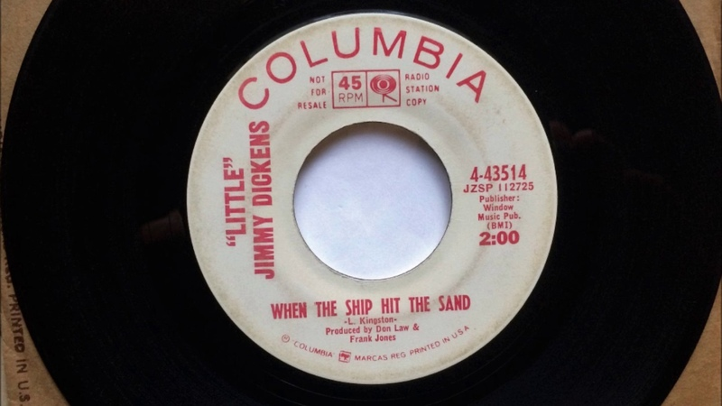 When The Ship Hit The Sand , Little Jimmy Dickens , 1966