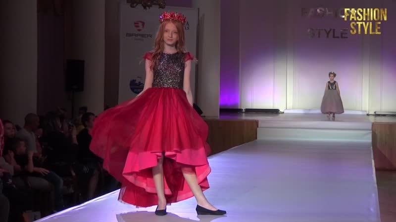 Модели агентства Linda Kids на всероссийском фестивале моды FASHION STYLE 2020
