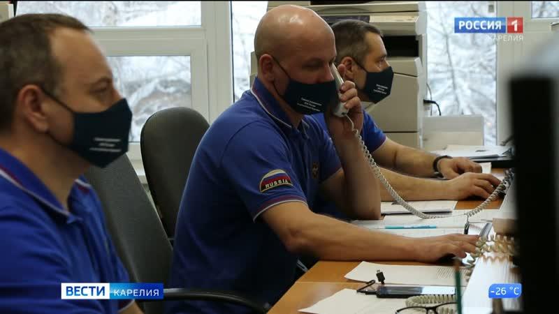 Шесть аварийный бригад в Питкяранте ликвидируют последствия коммунальной аварии
