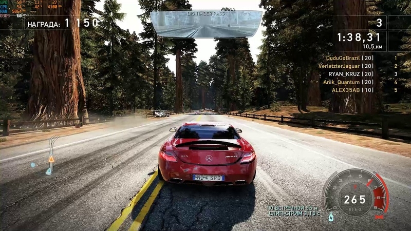 Need for Speed: Hot Pursuit SLS AMG2