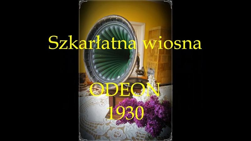 Szkarłatna wiosna Mieczysław Fogg