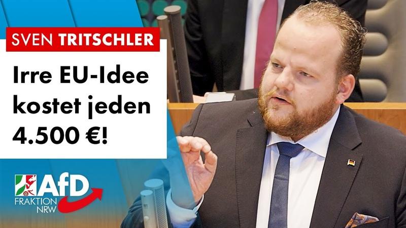 Irre EU-Idee kostet jeden Deutschen 4.500 €! – Sven Tritschler (AfD)