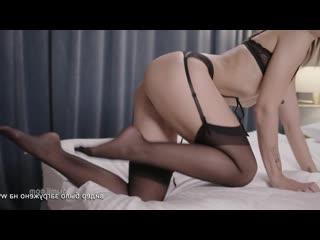 красивое нежное порно с Mina K минет кунилингус нежный секс в чулках